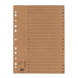 Pappersregister A4 Kraftpapper
