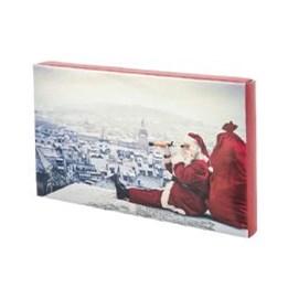 Julkartong 7 Tomte På Tak 300x120x30mm