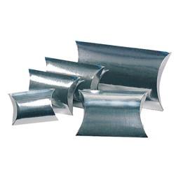Presentask Planoval 100x100x35mm Silver