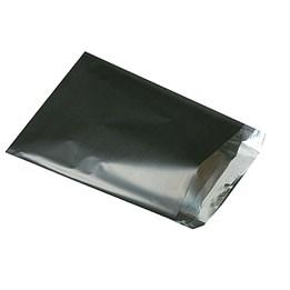Foliepåse 350x500+40mm Svart 100st/fp