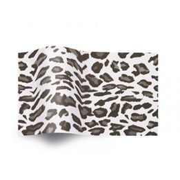 Silkespapper 50x75cm 17g Leopard 480ark/fp