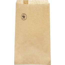 Papperspåse Plan 1kg 210x275mm Brun