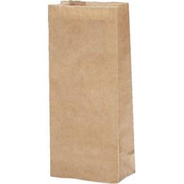 Ströbrödspåse 1/4 kg 80x45x225mm Brun