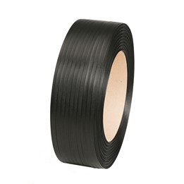 PP-Band 12mm x 1500m P1250 Svart 225kp