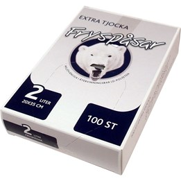 Fryspåse 2L 120/80x350x0,04mm LD 100st/fp