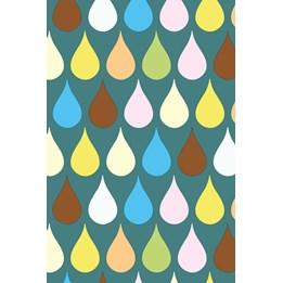Presentpapper 57cm Drops