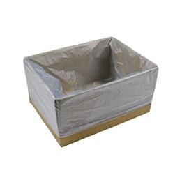 Insatspåse 680/420x700mm Blåinfärgad 30kg Löspackade 500st/fp