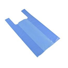 Bärkasse Plast 15L 270/150x550mm Blå 500st/fp