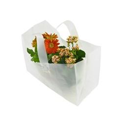 Plantbärkasse Plast 350x170x240mm 250st/fp Transparent