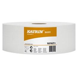 Toalettpapper Katrin Basic Gigant L Oblekt 1-Lager