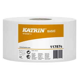 Toalettpapper Katrin Basic Gigant S Oblekt 1-Lager