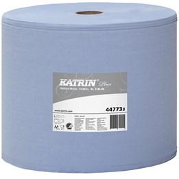 Torkrulle Katrin Industri Plus Perforerad 31cm x  370m Blå 3-Lager