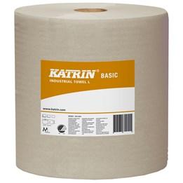 Torkrulle Katrin Industri Basic L 27cm x 564m 1-Lager Oblekt 2rl/fp