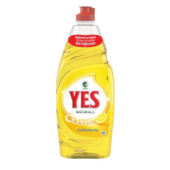 Handdiskmedel Yes Ultra+ Lemon 650ml