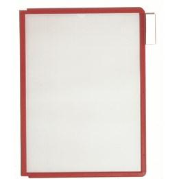 Ram A4 Röd Pp 5-P Till Durable Bords-/