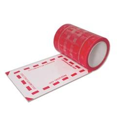 Dokumentskydd på Rulle 150mm x 66m Röd  310st/rl