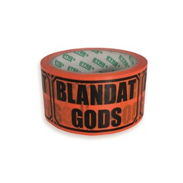 Varningstejp Orange Blandat gods
