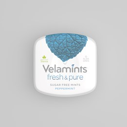 Velamints Peppermint 20g