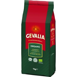Kaffe Gevalia Hela Bönor 1000g Ekologiskt Mörkrost
