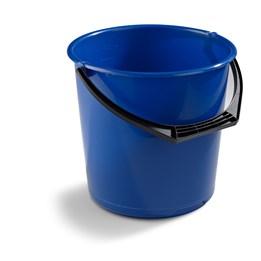 Hink Rund Plast 10L Mörkblå