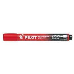 Textpenna Pilot 100 4mm Röd