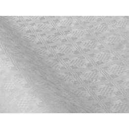 Duk Damast 70x120cm Vit 125st/fp