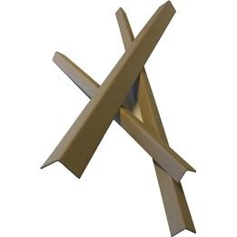 Bandskydd 60x60x3x75mm Brun