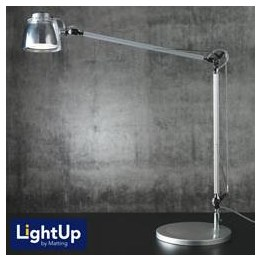 Lampa London Silver/Transparent