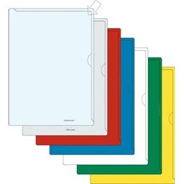 Aktmapp A4 Klar 0.12mm PVC