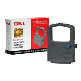 Färgband OKI Svart Ribbon MI 5520/5521, 5590/5591