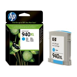 Bläckpatron HP Cyan Ink 940XL