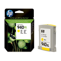 Bläckpatron HP Gul Ink 940XL