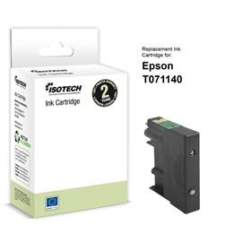 Bläckpatron Isotech Svart Inc Cartridge