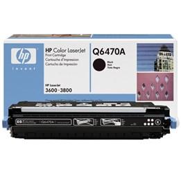 Toner HP Cl-Jet 3600 Svart Q6470A