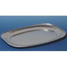 Uppläggningsfat Aluminium 55x36cm 10st/fp