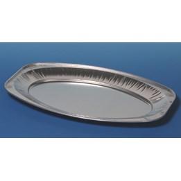 Uppläggningsfat Aluminium 45x30cm 10st/fp