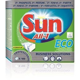 Maskindiskmedel Sun Tablett Eco 100st/fp