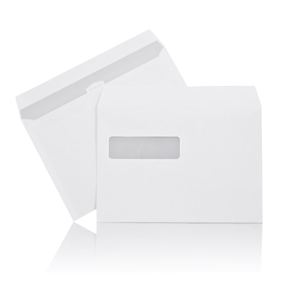 Kuvert C5 Mailman V2 162x229mm Självhäft. 500st/fp