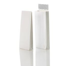 Provsäck B4 250x353/40mm Vit Stripseal