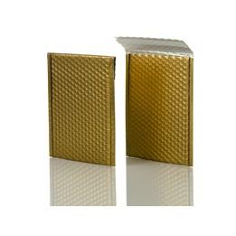 Bubbelpåse Metallic 230x324mm Guld
