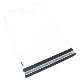 E-Handelspåse 360x410+70+60x0,06mm COEX Vit/svart Med Handtag 200st/fp