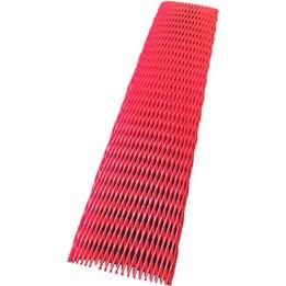 Axelskyddsnät 40-95mm x 50m Röd
