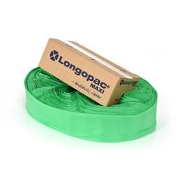 Säckmagasin Longopac Maxi green inc clips standard