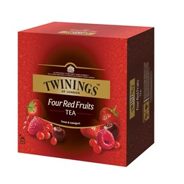 Te Twinings Four Red Fruit 100st/fp