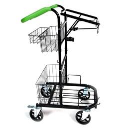 Städvagn Vikur Mini Robust Svart/Grön