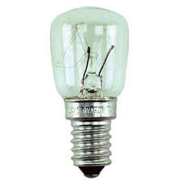 Päronlampa 25W E14 Klar 2st/fp
