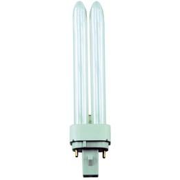 Kompaktlysrör 18W G24D2 4-Stav 2-Pin Interna