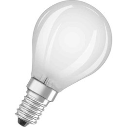 LED-Lampa Osram Retro Klot Dim E14 Matt 827 5W