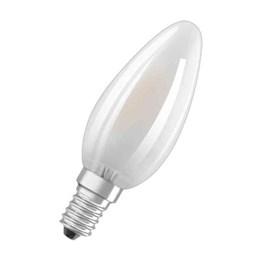 LED-Lampa Osram Retro Kron E14 Matt 827 4W