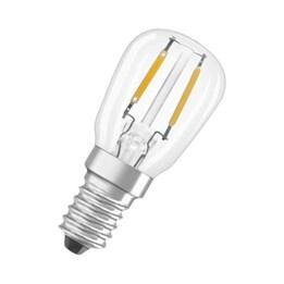 LED-Lampa Osram Päron Klar  E14 827 T26 Star 1.3W